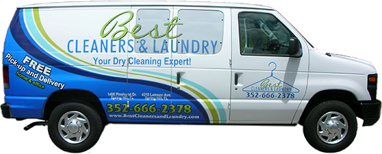 Free Dry Cleaning Pickup and Delivery